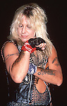 Motley Crue - May 1987 in Hollywood filming Girls, Girls , Girls Video