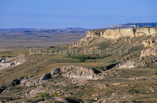 View from Slim Buttes looking out over  the Great Plains, Custer National Forest, Harding County, South Dakota, AGPix_0527.  .