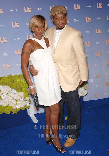 Mary J. Blige & husband Kendu Isaacs at Us Weekly Magazine's Hot Hollywood Party at Opera nightclub in Hollywood..September 27, 2007  Los Angeles, CA.Picture: Paul Smith / Featureflash