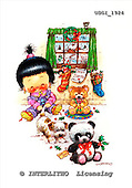 GIORDANO, CHRISTMAS CHILDREN, WEIHNACHTEN KINDER, NAVIDAD NIÑOS, paintings+++++,USGI1924,#XK#