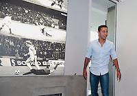 MUNIQUE, ALEMANHA, 16.07.2013 - THIAGO ALCANTRA BAYERN DE MUNIQUE - O jogador Espanhol Thiago Alcantra é apresentado pelo Bayern de Munique como novo reforço em Munique ontem terça-feira, 16. (Foto: Pixathlon / Brazil Photo Press).