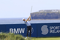 Ross Fisher (ENG) tees off the 4th tee during Thursday's Round 1 of the Dubai Duty Free Irish Open 2019, held at Lahinch Golf Club, Lahinch, Ireland. 4th July 2019.<br /> Picture: Eoin Clarke | Golffile<br /> <br /> <br /> All photos usage must carry mandatory copyright credit (© Golffile | Eoin Clarke)