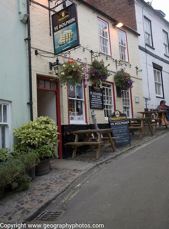 Ye Dolphin pub, Robin Hood's Bay, Yorkshire, England