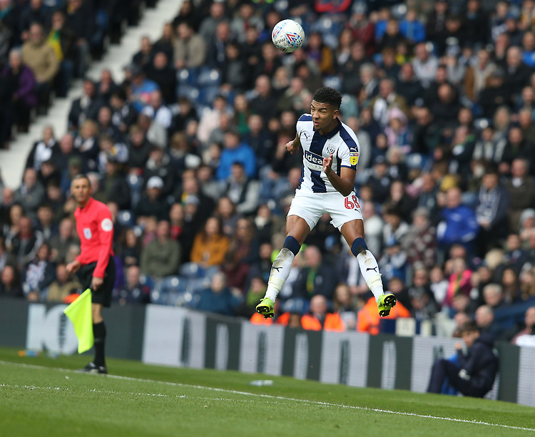 West Bromwich Albion's Mason Holgate<br /> <br /> Photographer Stephen White/CameraSport<br /> <br /> The EFL Sky Bet Championship - West Bromwich Albion v Preston North End - Saturday 13th April 2019 - The Hawthorns - West Bromwich<br /> <br /> World Copyright © 2019 CameraSport. All rights reserved. 43 Linden Ave. Countesthorpe. Leicester. England. LE8 5PG - Tel: +44 (0) 116 277 4147 - admin@camerasport.com - www.camerasport.com