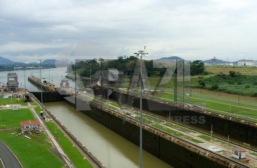 PANAMÁ, PAN, 19.09.2016 – CANAL-PANAMÁ – Vista da Eclusa de Miraflores no Canal do Panamá situado na Cidade do Panamá. (Foto: Ricardo Botelho/Brazil Photo Press)
