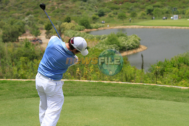 Rory McIlroy (N.IRL) teeing off on the par3 4th tee during Day 1 of the Volvo World Match Play Championship in Finca Cortesin, Casares, Spain, 19th May 2011. (Photo Eoin Clarke/Golffile 2011)