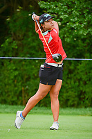 Lydia Ko (NZL) watches her tee shot on 11 during Thursday's round 1 of the 2017 KPMG Women's PGA Championship, at Olympia Fields Country Club, Olympia Fields, Illinois. 6/29/2017.<br /> Picture: Golffile | Ken Murray<br /> <br /> <br /> All photo usage must carry mandatory copyright credit (&copy; Golffile | Ken Murray)