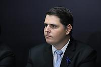 SÃO PAULO, SP, 08.11.2019 - POLITICA-SP - Cauê Macris, Presidente da Assembleia Legislativa do Estado de São Paulo, participa do anúncio da proposta do novo sistema de previdência dos servidores públicos do Estado de São Paulo, no Palácio dos Bandeirantes, em São Paulo, nesta sexta-feira, 8. (Foto Charles Sholl/Brazil Photo Press/Folhapress)