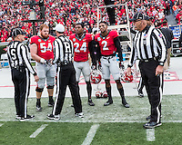 Athens, GA - November 12, 2016: The University of Georgia Bulldogs play the number 9 ranked Auburn Tigers at Sanford Stadium.  Final score UGA 13, Auburn 7.
