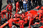 15.04.2018, Shanghai Audi International Circuit, Shanghai, 2018 FORMULA 1 HEINEKEN CHINESE GRAND PRIX, 12.04. - 15.04.2018<br /> im Bild<br />Sebastian Vettel (GER#5), Scuderia Ferrari<br /> <br /><br /> <br /> Foto &copy; nordphoto / Bratic