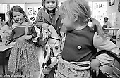 Dressing up, Vittoria Primary School, Islington, London.  1970.