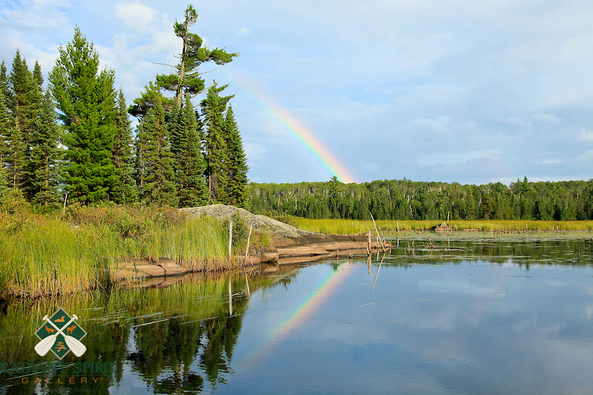 &quot;Boundary Waters Rainbows&quot;<br />
