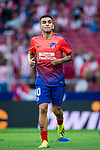 Angel Correa of Atletico de Madrid in action prior to the La Liga 2018-19 match between Atletico de Madrid and Rayo Vallecano at Wanda Metropolitano on August 25 2018 in Madrid, Spain. Photo by Diego Souto / Power Sport Images