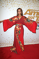 HOLLYWOOD, CA - SEPTEMBER 11:  Tyra Banks at America&rsquo;s Got Talent Season 13 Live Show arrivals at The Dolby Theatre in Hollywood, California on September 11, 2018. <br /> CAP/MPIFS<br /> &copy;MPIFS/Capital Pictures