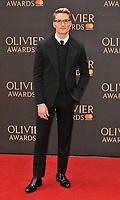 Oliver Proudlock at the Olivier Awards 2018, Royal Albert Hall, Kensington Gore, London, England, UK, on Sunday 08 April 2018.<br /> CAP/CAN<br /> &copy;CAN/Capital Pictures<br /> CAP/CAN<br /> &copy;CAN/Capital Pictures
