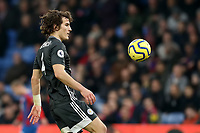 3rd November 2019; Selhurst Park, London, England; English Premier League Football, Crystal Palace versus Leicester City; Caglar Soyuncu of Leicester City  - Strictly Editorial Use Only. No use with unauthorized audio, video, data, fixture lists, club/league logos or 'live' services. Online in-match use limited to 120 images, no video emulation. No use in betting, games or single club/league/player publications