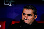 Ernesto Valverde FC Barcelona Head Coach during the La Liga 2018-19 match between Atletico Madrid and FC Barcelona at Wanda Metropolitano on November 24 2018 in Madrid, Spain. Photo by Diego Souto / Power Sport Images