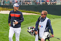Bernd Wiesberger (AUT) heads to the tee on 9 during round 2 of the 2019 US Open, Pebble Beach Golf Links, Monterrey, California, USA. 6/14/2019.<br /> Picture: Golffile | Ken Murray<br /> <br /> All photo usage must carry mandatory copyright credit (© Golffile | Ken Murray)