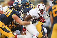 BERKELEY, CA-NOVEMBER 22, 2014- The Stanford CardinaL retain the Axe against the California Golden Bears winning the 117th Big Game 38-17 at Memorial Stadium on the University of California campus.