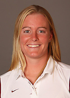 STANFORD, CA - SEPTEMBER 10:  Kelley Hug of the Stanford Cardinal during women's swimming picture day on September 10, 2009 in Stanford, California.