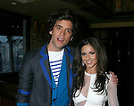 WEST HOLLYWOOD, CA. - February 08: Recording Artists Mika and Cheryl Cole attend the Universal Music Group Chairman Doug Morris' Grammy Awards Viewing Dinner at The Palm on February 8, 2009 in West Hollywood, California.