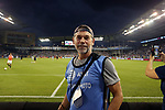 KANSAS CITY, KS - SEPTEMBER 20: U.S. Soccer Federation and International Sports Images photographer John Dorton. Sporting Kansas City hosted the New York Red Bulls on September 20, 2017 at Children's Mercy Park in Kansas City, KS in the 2017 Lamar Hunt U.S. Open Cup Final. Sporting Kansas City won the match 2-1.