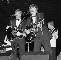 Everly Brothers,Don Everly,Phil Everly 1989 By Jonathan Green<br />