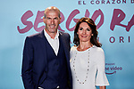 "Zinedine Zidane and Veronique Zidane attends to ""El Corazon De Sergio Ramos"" premiere at Reina Sofia Museum in Madrid, Spain. September 10, 2019. (ALTERPHOTOS/A. Perez Meca)"