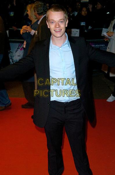 "ALFIE ALLEN.BFI London Film Festival UK Film Premiere of ""Brick Lane"" Odeon West End, London, England, .October 26th 2007..half length blue shirt black suit.CAP/CAN.©Can Nguyen/Capital Pictures"