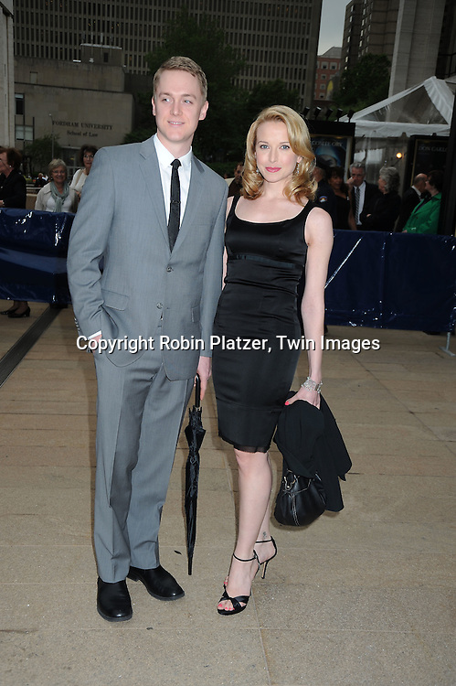 Shonn Wiley and Meredith Patterson arriving at The American Ballet Theatre's 70th Anniversay Season at their Spring Gala on May 17, 2010 at The Metropolitan Opera House in New York City.