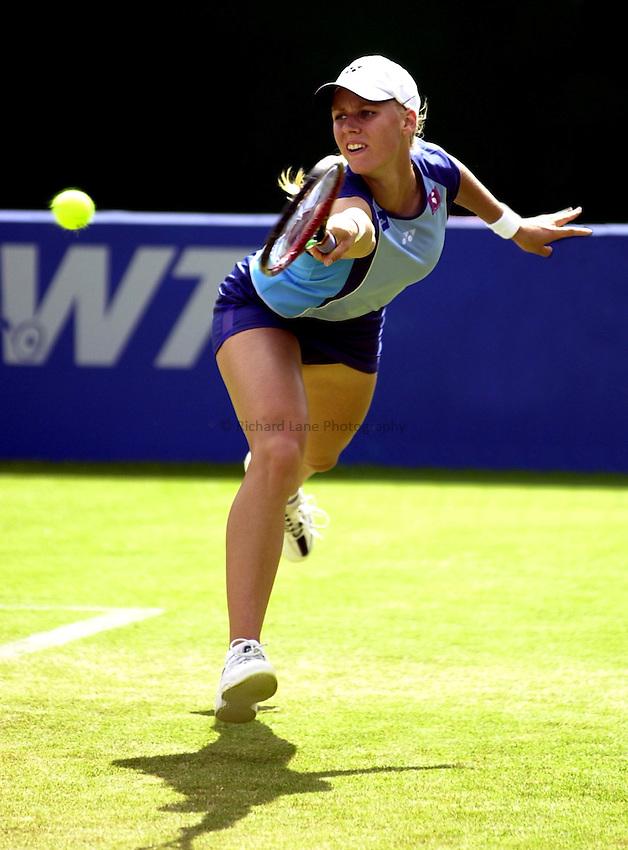 Photo: Richard Lane..DFS Classic Women's International Tennis at Edgebaston. 12/06/2003..Elena Dementieva.