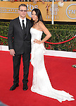 Matt Damon and Luciana Bozán Barroso attends The 20th SAG Awards held at The Shrine Auditorium in Los Angeles, California on January 18,2014                                                                               © 2014 Hollywood Press Agency