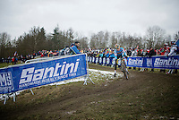 Eli Iserbyt (BEL)<br /> <br /> Men Juniors Race<br /> <br /> 2015 UCI World Championships Cyclocross <br /> Tabor, Czech Republic