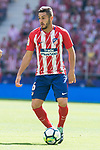 Atletico de Madrid's Koke Resurreccion during La Liga match between Atletico de Madrid and Sevilla FC at Wanda Metropolitano Stadium in Madrid, Spain September 23, 2017. (ALTERPHOTOS/Borja B.Hojas)