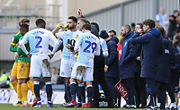 Blackburn Rovers manager Tony Mowbray issues instructions to his team during a break in play<br /> <br /> Photographer Rich Linley/CameraSport<br /> <br /> The EFL Sky Bet Championship - Blackburn Rovers v Preston North End - Saturday 9th March 2019 - Ewood Park - Blackburn<br /> <br /> World Copyright © 2019 CameraSport. All rights reserved. 43 Linden Ave. Countesthorpe. Leicester. England. LE8 5PG - Tel: +44 (0) 116 277 4147 - admin@camerasport.com - www.camerasport.com