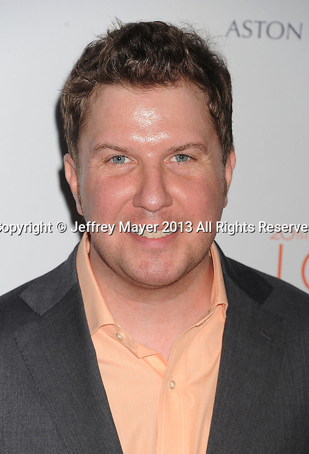 CENTURY CITY, CA- MAY 03: Actor Nick Swardson arrives at the 20th Annual Race To Erase MS Gala 'Love To Erase MS' at the Hyatt Regency Century Plaza on May 3, 2013 in Century City, California.