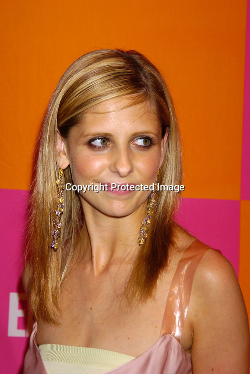 """Sarah Michelle Gellar..at The Entertainment Weekly's """"The Must List"""" party at ..Crobar in New York City on June 17, 2004. ..Photo by Robin Platzer, Twin Images"""