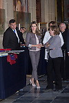 11.09.2012. Princess Letizia of Spain visits, accompanied by the Minister of employment Fatima Bañez, the exhibition commemorating the 25th anniversary of Workshop Schools and Employment Workshops at the Board of Directors of National Heritage at the Royal Monastery of San Lorenzo de El Escorial, Madrid. In the image Princess Letizia  (Alterphotos/Marta Gonzalez)