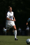 Christie McDonald, of Duke, on Sunday September 18th, 2005 at Koskinen Stadium in Durham, North Carolina. The Duke University Blue Devils defeated the University of San Diego Toreros 5-0 during the Duke adidas Classic soccer tournament.