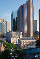 Faneuil Hall + office towers, Boston