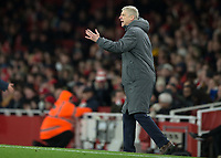 Arsene Wenger manager of Arsenal during the Premier League match between Arsenal and Newcastle United at the Emirates Stadium, London, England on 16 December 2017. Photo by Vince  Mignott / PRiME Media Images.