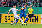 10.08.2019, wohninvest Weserstadion, Bremen, GER, DFB-Pokal, 1. Runde, SV Atlas Delmenhorst vs SV Werder Bremen<br /> <br /> DFB REGULATIONS PROHIBIT ANY USE OF PHOTOGRAPHS AS IMAGE SEQUENCES AND/OR QUASI-VIDEO.<br /> <br /> im Bild / picture shows<br /> #Maximilian Eggestein (Werder Bremen #35)<br /> Marvin Osei (SV Atlas Delmenhorst #24)<br /> <br /> Foto © nordphoto / Kokenge