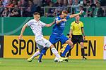 10.08.2019, wohninvest Weserstadion, Bremen, GER, DFB-Pokal, 1. Runde, SV Atlas Delmenhorst vs SV Werder Bremen<br /> <br /> DFB REGULATIONS PROHIBIT ANY USE OF PHOTOGRAPHS AS IMAGE SEQUENCES AND/OR QUASI-VIDEO.<br /> <br /> im Bild / picture shows<br /> #Maximilian Eggestein (Werder Bremen #35)<br /> Marvin Osei (SV Atlas Delmenhorst #24)<br /> <br /> Foto © nordphoto / Kokenge