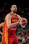 Marc Gasol of Spain during the Friendly match between Spain and Dominican Republic at WiZink Center in Madrid, Spain. August 22, 2019. (ALTERPHOTOS/A. Perez Meca)