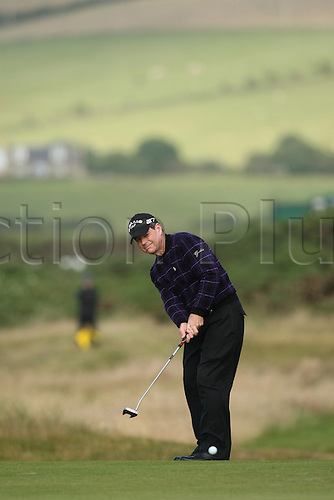 Tom Watson (USA), JULY 18, 2009 - Golf : Tom Watson in action during third round of the 138th Open Championship on the Ailsa Course, Turnberry Golf Club in Turnberry, Scotland. (Photo by Koji Aoki/ActionPlus) UK Licenses Only