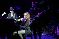 LONDON, ENGLAND - SEPTEMBER 8: Dave Stewart and Diane Birch performing at Shepherd's Bush Empire on September 8, 2017 in London, England.<br /> CAP/MAR<br /> &copy;MAR/Capital Pictures