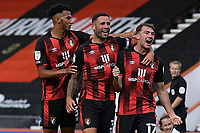 Jack Stacey of Bournemouth right scores and celebrates during AFC Bournemouth vs Blackburn Rovers, Sky Bet EFL Championship Football at the Vitality Stadium on 12th September 2020