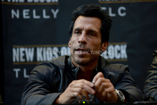 WWW.ACEPIXS.COM<br /> January 20, 2015 New York City<br /> <br /> Danny Wood attending a New Kids on The Block Press Conference at Madison Square Garden on January 20, 2015 in New York City. <br /> <br /> By Line: Kristin Callahan/ACE Pictures<br /> ACE Pictures, Inc.<br /> tel: 646 769 0430<br /> Email: info@acepixs.com<br /> www.acepixs.com