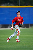 Philadelphia Phillies Venn Biter (28) during a minor league Spring Training game against the Toronto Blue Jays on March 26, 2016 at Englebert Complex in Dunedin, Florida.  (Mike Janes/Four Seam Images)
