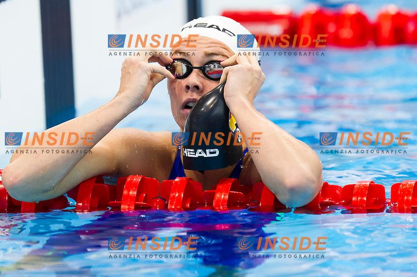 STEIGER Jessica GER<br /> London, Queen Elizabeth II Olympic Park Pool <br /> LEN 2016 European Aquatics Elite Championships <br /> Swimming<br /> Women's 200m medley preliminary  <br /> Day 10 18-05-2016<br /> Photo Giorgio Perottino/Deepbluemedia/Insidefoto